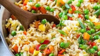 Рис с овощами - простой рецепт | Как приготовить рассыпчатый рис на сковороде