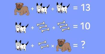 Простейшая школьная задачка из учебника по математике, над которой ломают голову 87 % взрослых