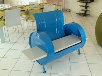 Мебель и предметы декора из бочек