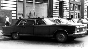 Персоналка застоя: почему ГАЗ-14 стал последней Чайкой