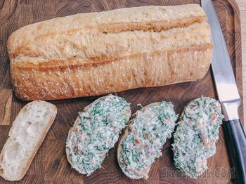 Бутерброды с красной рыбой — вкуснейшая закуска за 5 минут