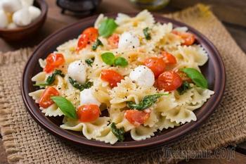 Итальянский салат с макаронами за 10 минут