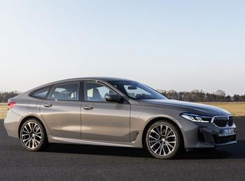 BMW 6 Series GT 2021: премиальный автомобиль в кузове купе