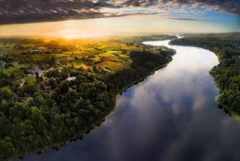 20 невероятно красивых видов Литвы, созданных при помощи квадрокоптера