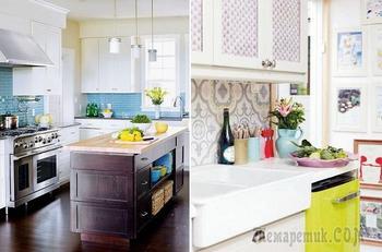 Необычные кухонные фартуки, которые преобразят любую кухню