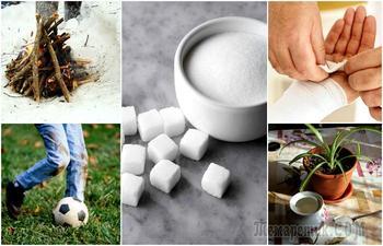 15 домашних хитростей, позволяющих с помощью сахара решить множество бытовых проблем