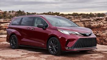 Toyota Sienna 2021: 4-ое поколение японского минивэна