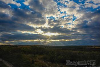 Фотопрогулка. Осенний вечер у реки