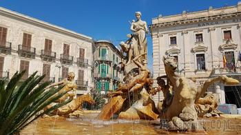 Сицилия 15. Сиракузы. Старый город Ортиджа