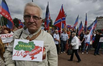 Большинство россиян высказались за независимость Донбасса от Украины