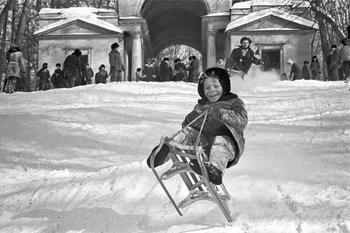 Москва зимой