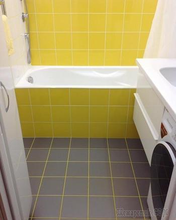 Любимое место в квартире: ванная комната