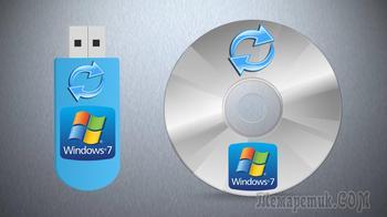 Как создать диск восстановления системы для Windows 7!
