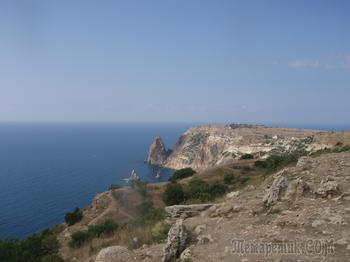 Крым. Севастополь. 2 а Фиолент. Август 2006 года