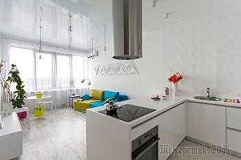 Двухкомнатная квартира 60 кв. м. в Киеве