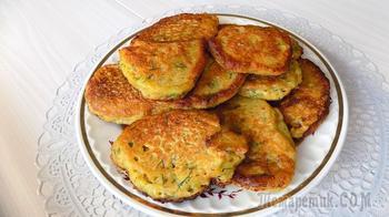 Картофельные оладьи из сырой картошки. Видео рецепт