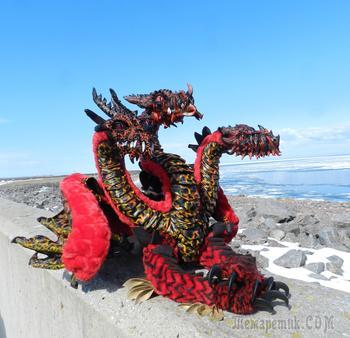 Как создавался трёхголовый дракон Лютобор