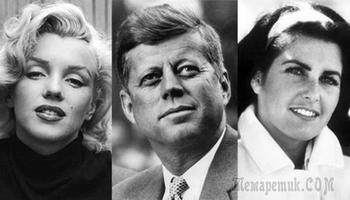 7 самых громких романов Джона Кеннеди: президент женских сердец