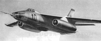 Бомбардировщик Ил-54