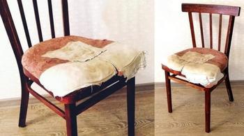 Вторая жизнь старого советского стула