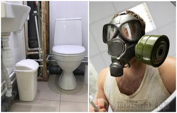 Почему канализация в ванной источает неприятный запах и как его устранить