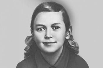 17-летняя школьница-героиня Зина Портнова в одиночку уничтожила сотню немцев