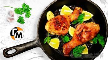 Куриные ножки на сковороде - супер сочные, вкусные!