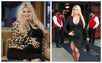Джессика Симпсон похудела на 45 кг всего за полгода