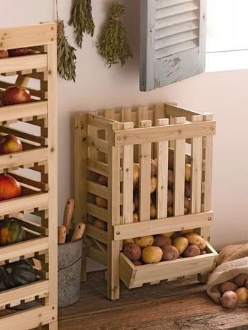 Идеи хранения фруктов и овощей на кухне