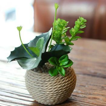 Декор горшков — фото идеи создания красивого оформления цветочных горшков