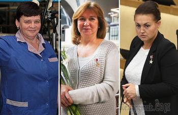 За какие невоенные подвиги 7 женщин получили звание Героя России