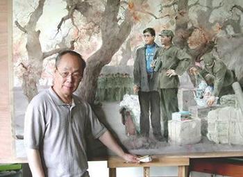 Акварельное творчество китайского художника Guan Weixing (Гуань Вейксинг)