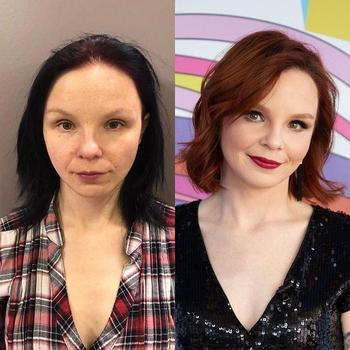 25 женщин до и после макияжа и преображения. И разница на некоторых фото колоссальна