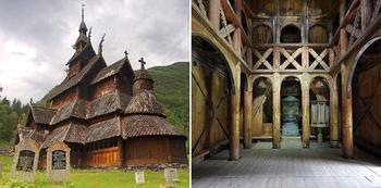 Необычные церкви