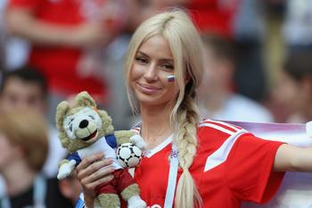 Русские красавицы -болельщицы на ЧМ 2018 по футболу
