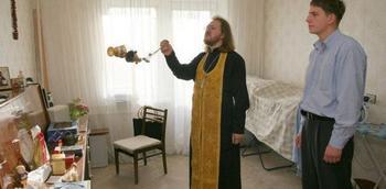 Об освящении квартир