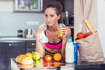 Лучшие продукты для похудения перед тренировкой