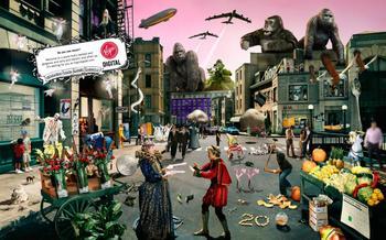 Найдите все 75 музыкальных групп, спрятанных в этом постере!