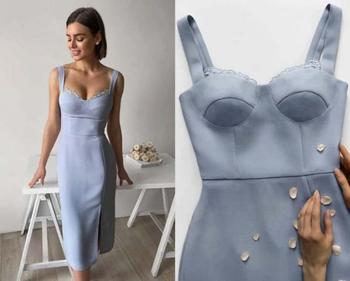 Женственные корсетные платья