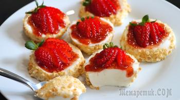 Десерт без выпечки, яиц и муки! // Нежнейший десерт из йогурта