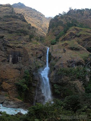 Гималаи. Водопады реки Марсианди