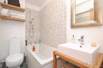Маленькая ванная комната – дизайн 2019 года