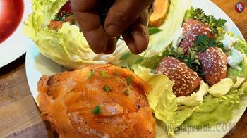 Семга четыре блюда