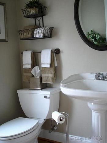 Организация пространства в ванной комнате: 18 полезных советов и идей