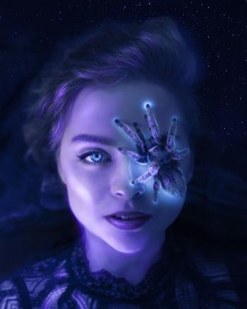 Волшебные светящиеся фотоманипуляции Анны Макнот