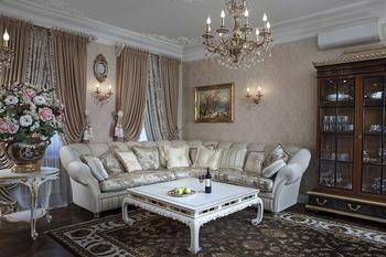 Квартира  в викторианском стиле на Васильевском острове