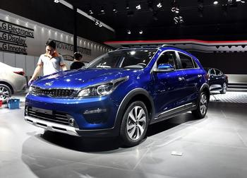 Kia K2 Cross – брутальный хэтчбек Киа Рио