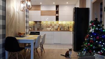 «Шкафчики решили делать под потолок». О ремонте кухни