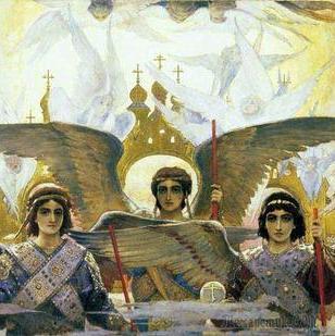 Васнецов Виктор Михайлович. Росписи во Владимирском соборе Киева.