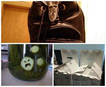 «Смотри внимательно»: 20 предметов, которые выглядят ну очень зловеще
